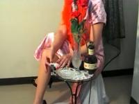 「小向美奈子逃走中」ストッキングマダム(第1回)